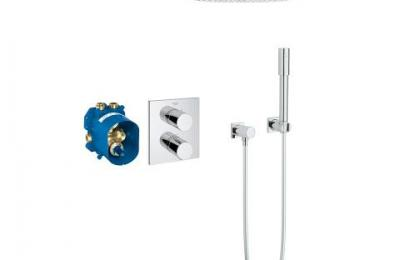 Grohtherm 3000 Perfect Shower Set Rainshower Cosmopolitan 310 - Grohe