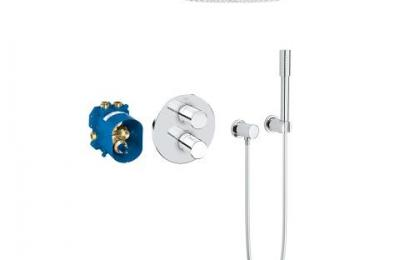 Grohtherm 3000 Perfect Shower Set Rainshower Cosmopolitan 310 rond - Grohe