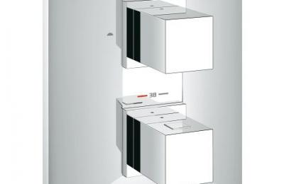 Allure Brilliant thermostatisch greepelement 2 aansluitingen - Grohe